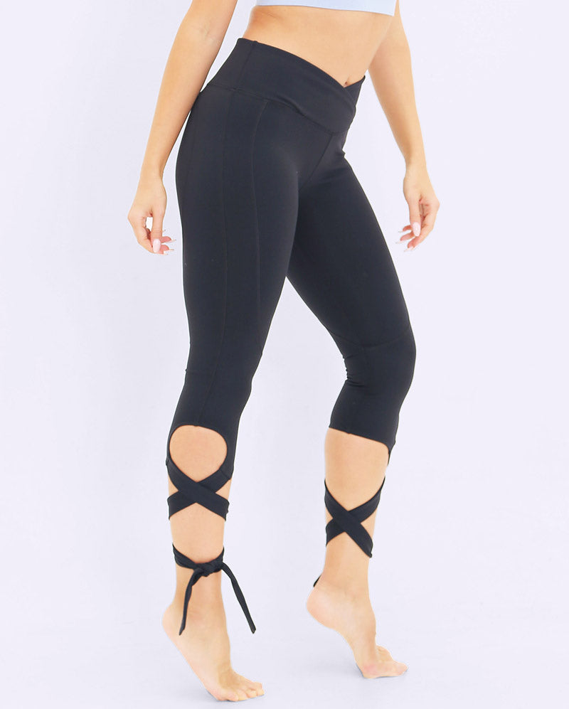 FAYE WRAP LEGGING