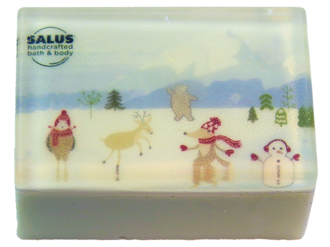 Enchanted Forest Holiday Photo Soap
