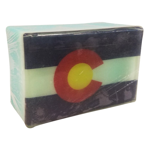 Colorado Flag Photo Soap