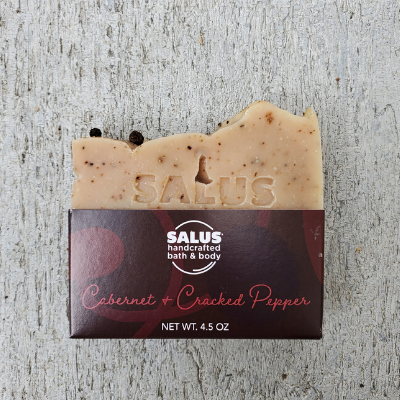 Cabernet and Cracked Pepper Soap