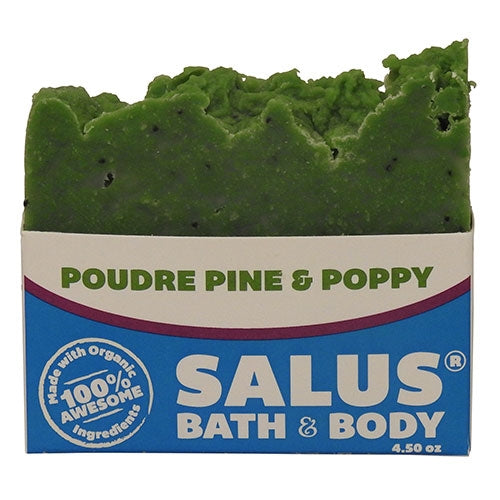 Poudre Pine and Poppy Soap