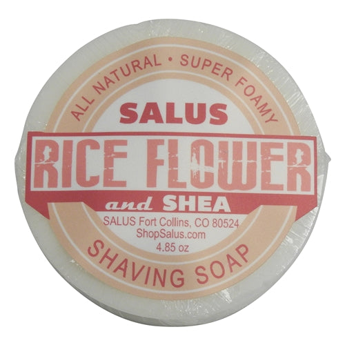 Shaving Soap: Rice Flower and Shea