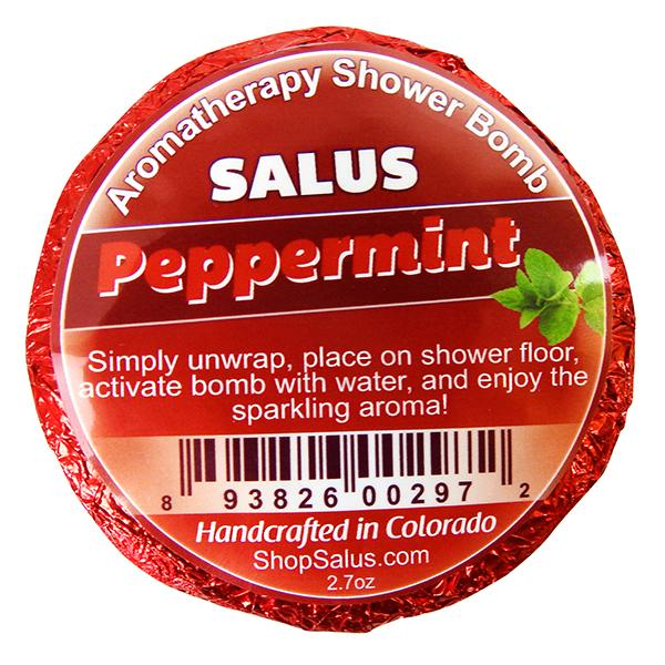 Peppermint Mega Shower Bomb