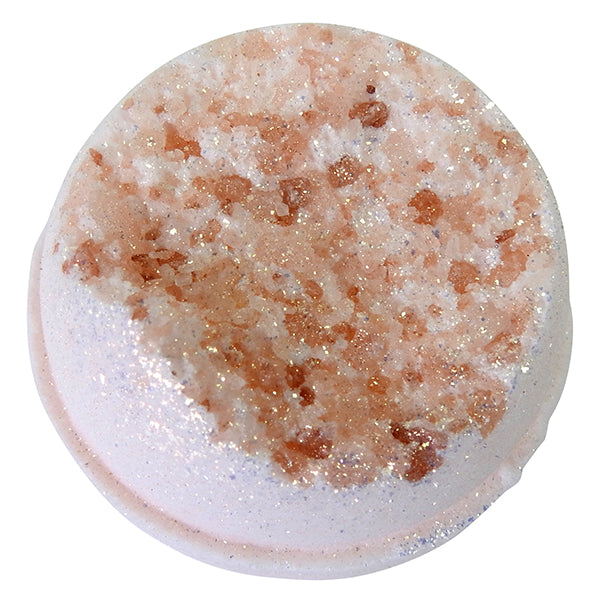 Rose Quartz Geode Mega Bath Bomb