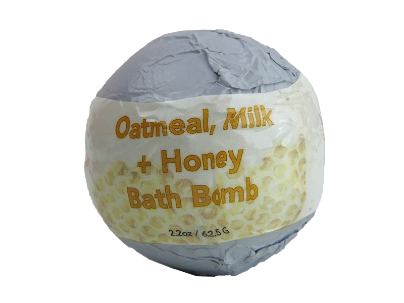 Oatmeal, Milk and Honey Bath Bomb