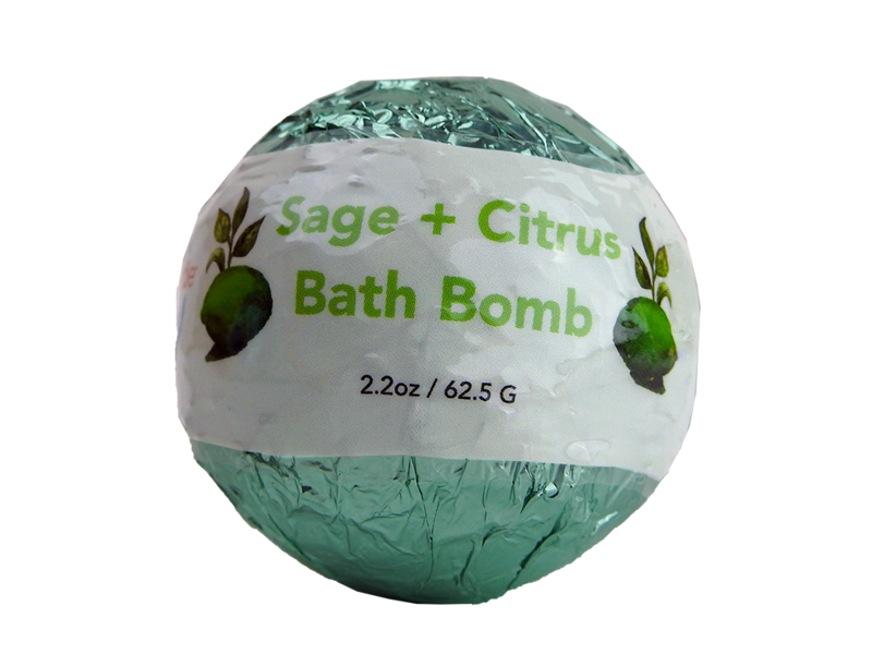 Sage and Citrus Bath Bomb
