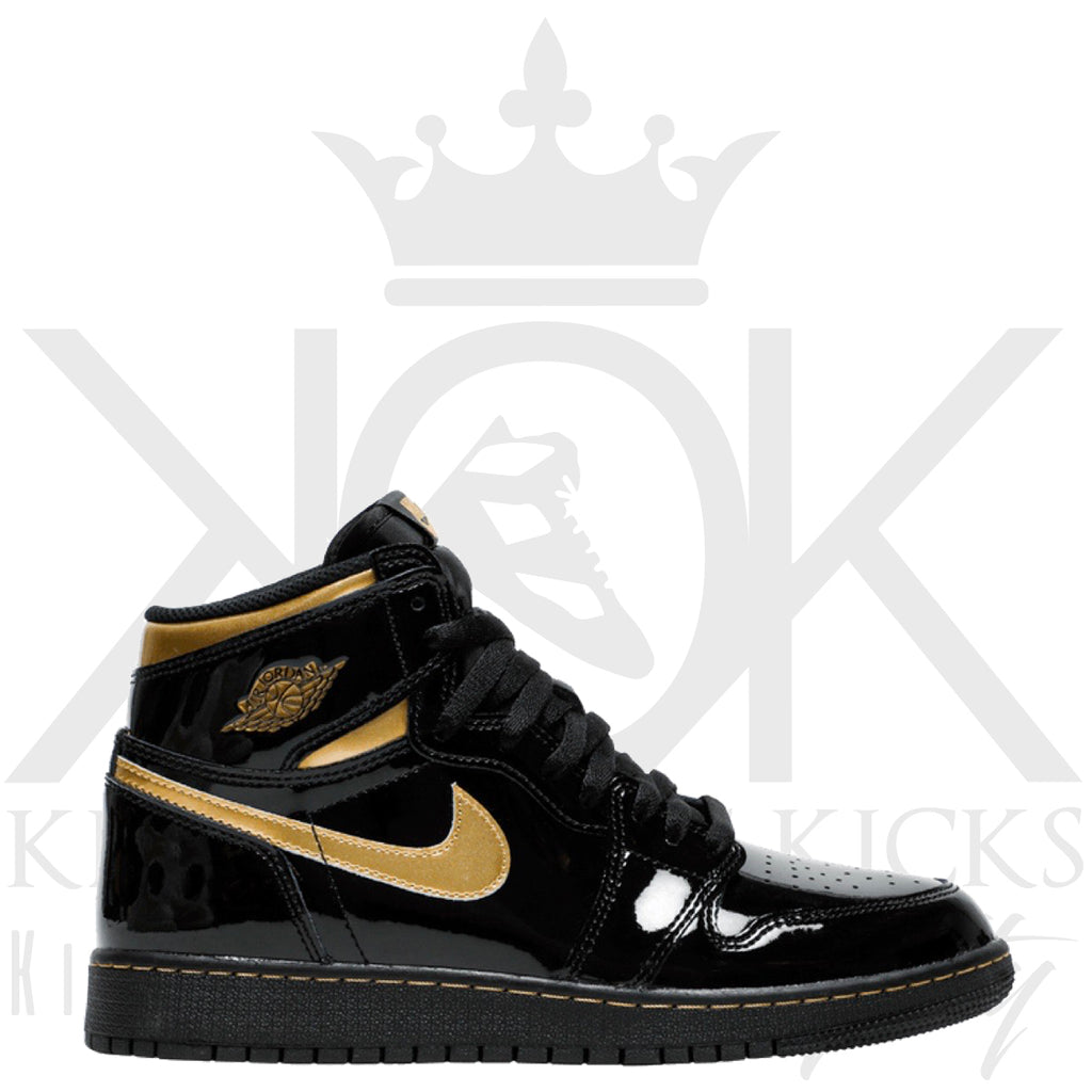 Air Jordan 1 Black Metallic Gold 2020