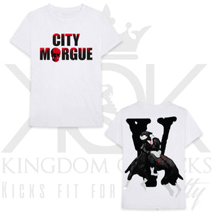 Vlone City Morgue Dogs Tee White