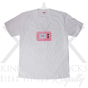 Supreme TV White Tee