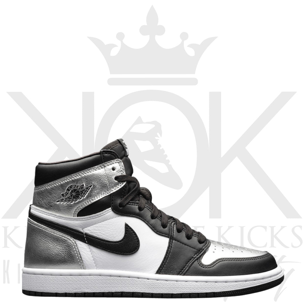 Air Jordan 1 High Metallic Silver