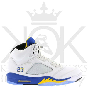 Air Jordan 5 Laney White