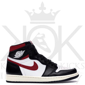 Air Jordan 1 Black Gym Red