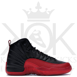 Air Jordan 12 Flu Game GS