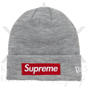 Supreme FW/18 Box Logo Beanie Grey