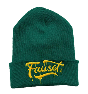 Fauset Beanie Green/Yellow