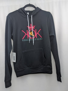 KOK Black/Multi-Color Logo Hoodie Embroidered