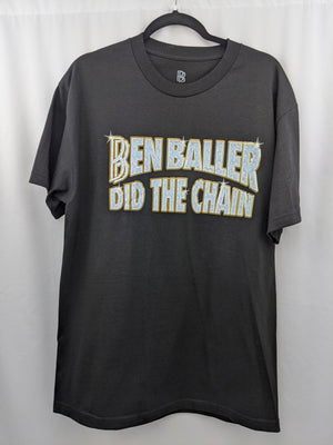 Ben Baller Did The Chain Black Tee