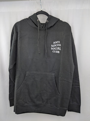 Anti Social Club Mind Games Black Hoody