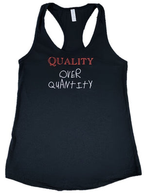 Fauset QoQ Black/Red/Grey Tank