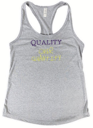 Fauset QoQ Grey/Purple/Yellow Tee