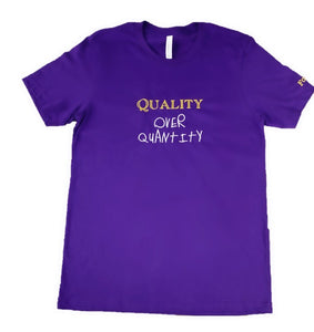 Fauset QoQ Purple/Yellow/White Tee
