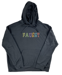 Fauset Multi Color Black Hoodie