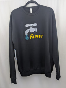 Fauset Star Drip Crew Black/Gold