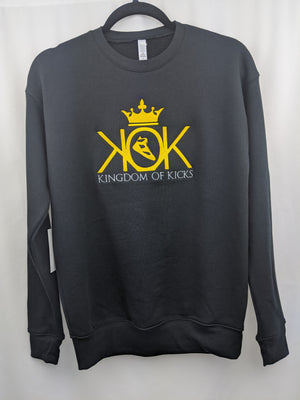 KOK Black/Gold Crew Embroidered