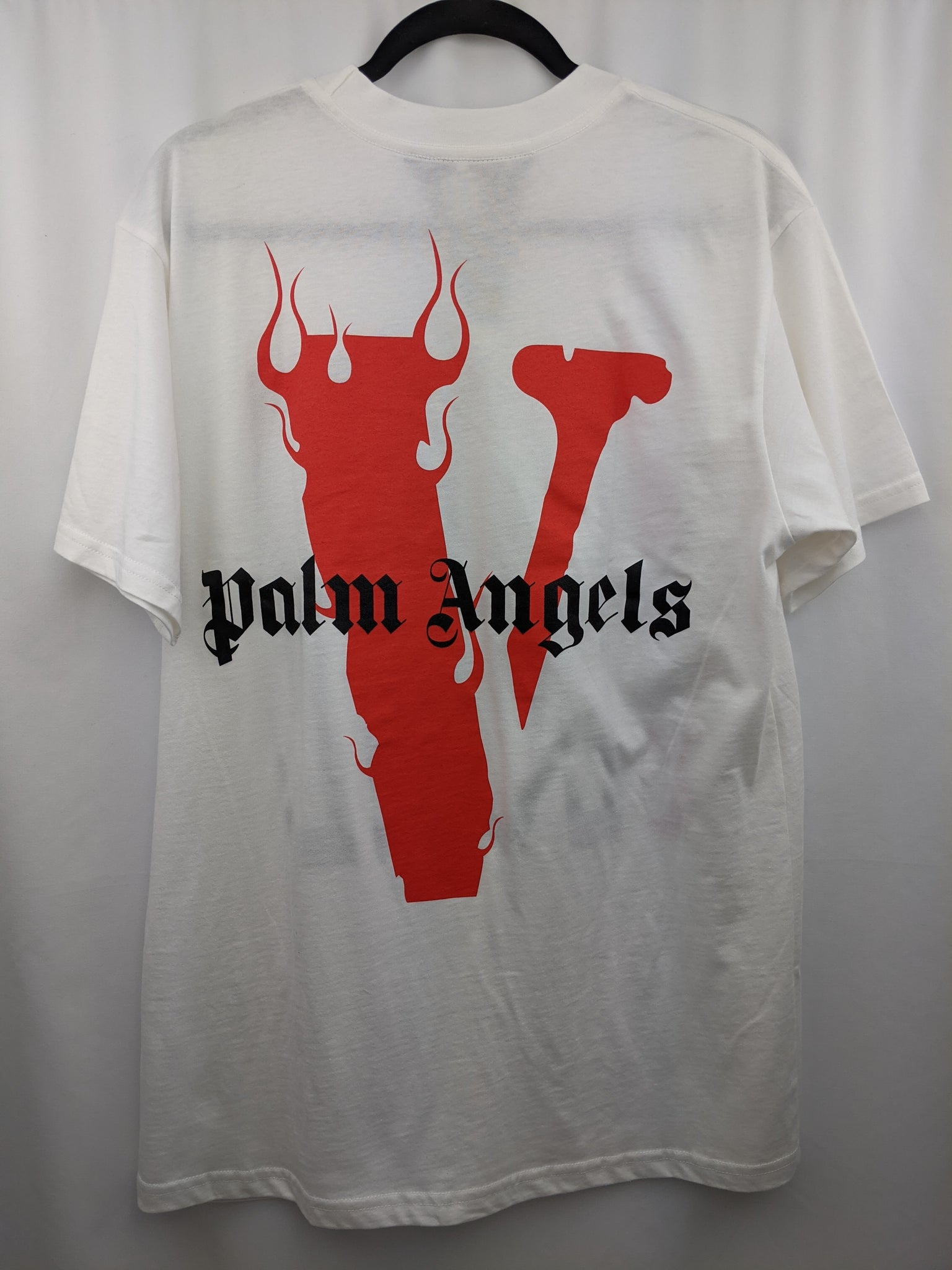 Vlone Palm Angels Tee White/Red