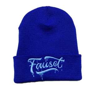 Fauset Beanie Royal/Light Blue