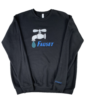 Fauset Star Drip Black/Blue Crew