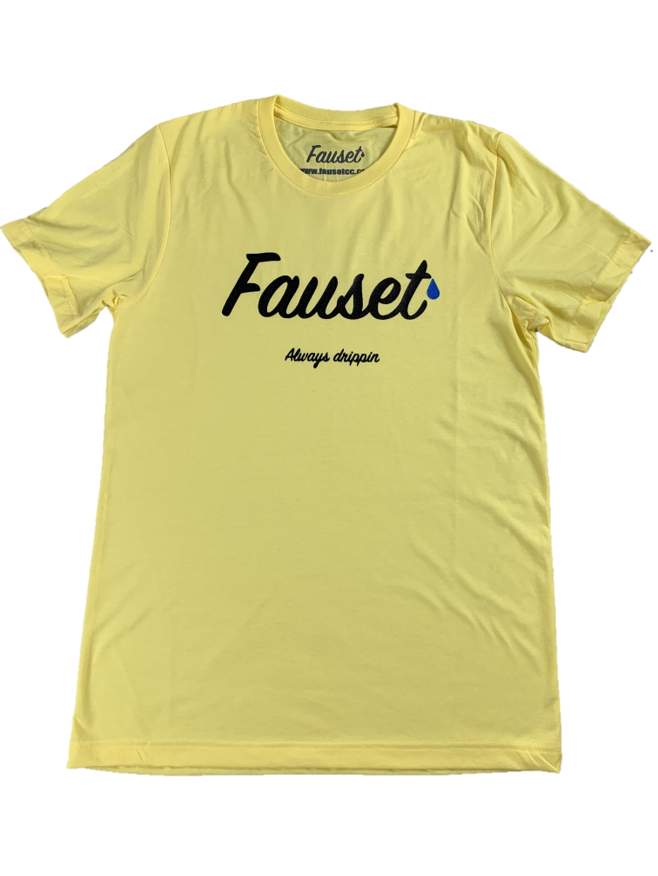 Fauset Always Drippin Yellow Tee
