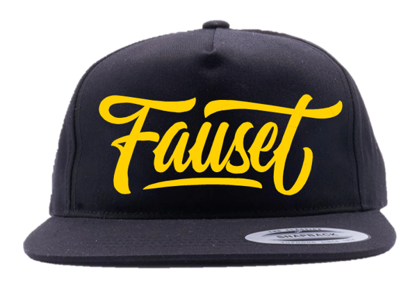 Fauset Black/Yellow Snapback