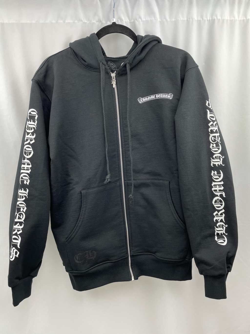 Chrome Hearts Thermal Hoodie Black