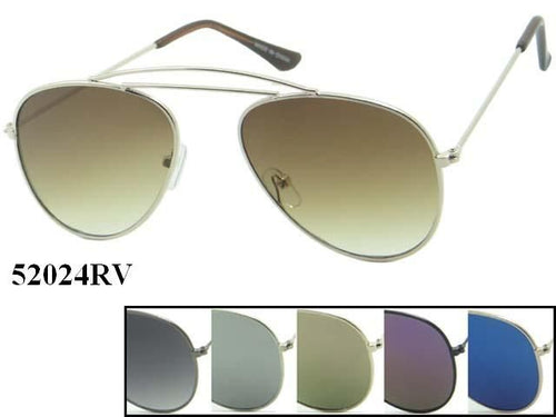 Unisex Wholesale Metal Aviator Sunglasses 52024RV