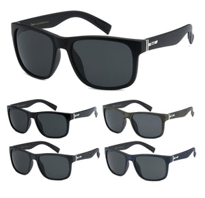 Locs Wholesale Sunglasses Gangster flat top - Unisex Wholesale Trendy Wayfarer Plastic Sunglasses 1 Dozen 8LOC91086 - BuyWholesaleSunglasses.com