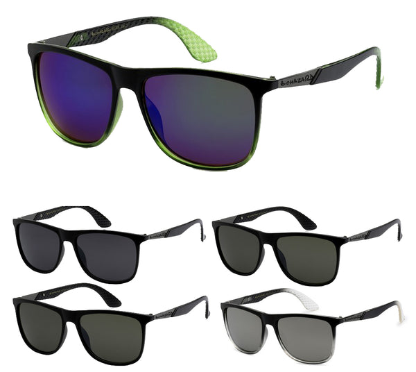 Wholesale Mens Wrap Around Biohazard Wrap Revo Lens Sunglasses 1 Dozen Bio Hazard 8BZ66208 - BuyWholesaleSunglasses.com