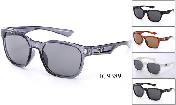 Womens Wholesale Fashionable Plastic Sunglasses 1 Dozen IG9389 - BuyWholesaleSunglasses.com