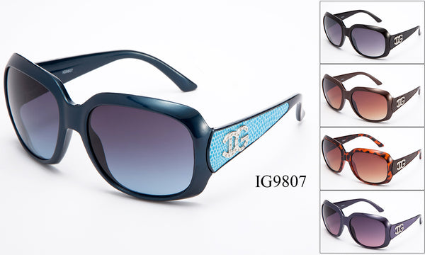 Womens Wholesale Fashion Sunglasses 1 Dozen IG9807 - BuyWholesaleSunglasses.com