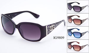 Womens Wholesale Fashion Sunglasses 1 Dozen IG9809 - BuyWholesaleSunglasses.com