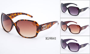 Womens Wholesale Fashion Big Lens Sunglasses 1 Dozen IG9841