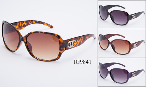 Womens Wholesale Fashionable Trendy Sunglasses 1 Dozen IG9841 - BuyWholesaleSunglasses.com