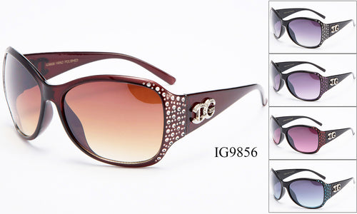 Womens Wholesale Rhinestone Fashionable Sunglasses 1 Dozen IG9856 - BuyWholesaleSunglasses.com
