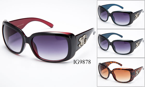 Womens Wholesale Fashionable Sunglasses 1 Dozen IG9878 - BuyWholesaleSunglasses.com