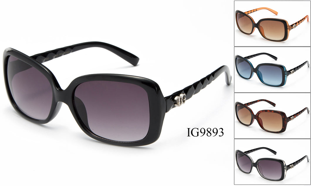 Womens Wholesale Textured Armband Sunglasses 1 Dozen IG9893