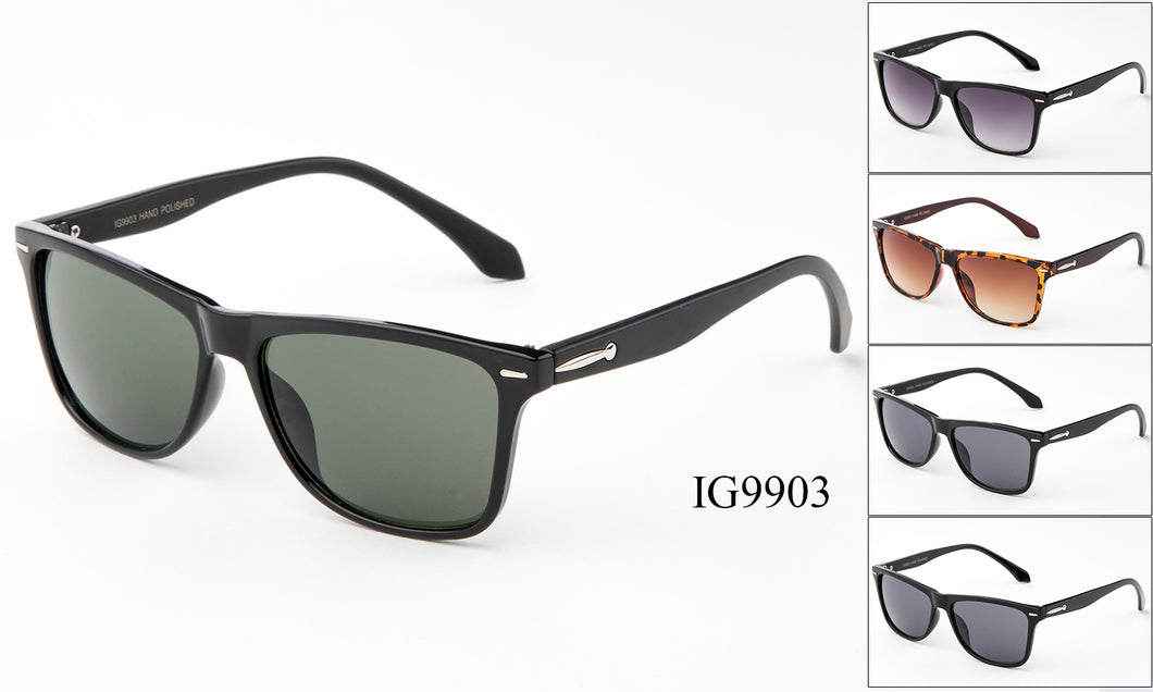 Unisex Wholesale Wayfarer Fashionable Sunglasses 1 Dozen IG9903
