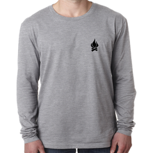Heather Rectangle Long Sleeve