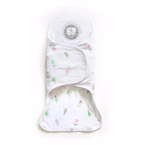 Kozy Support Swaddle - Ice Cream