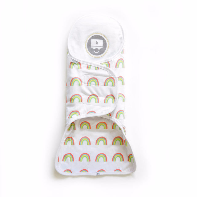 Kozy Support Swaddle - Rainbow