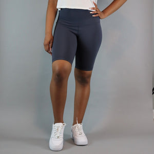 Ayan Biker Short - Battle Blue